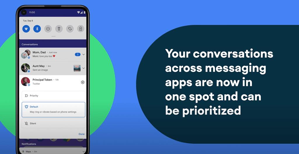 conversation feature