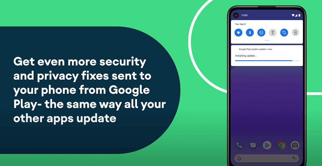 Android 11 security update