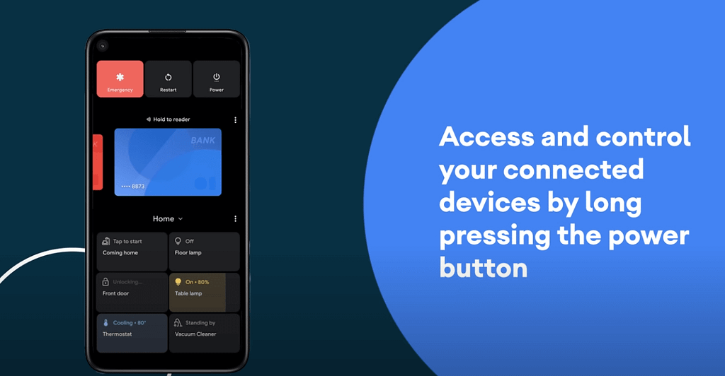 smart controls Android 11 feature