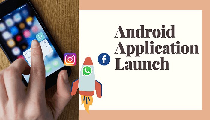 Android Application launch: What happens when we click an icon