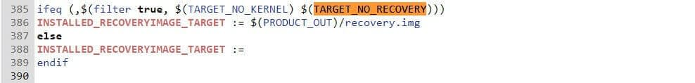 use of TARGET_NO_RECOVERY to implement AB update